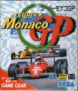 Super Monaco GP Game Gear Japanese Box
