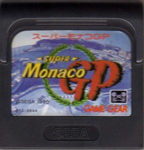 Super Monaco GP Game Gear Japanese Cartridge