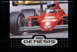 Super Monaco GP Genesis Cartridge