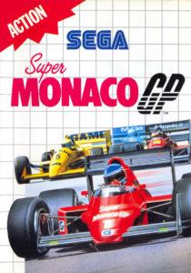Super Monaco GP Master System Box