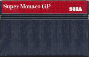 Super Monaco GP Master System Cartridge