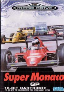 Super Monaco GP Mega Drive Box