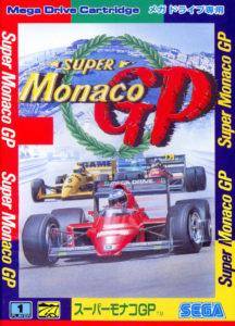 Super Monaco GP Mega Drive Japanese Box