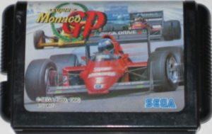Super Monaco GP Mega Drive Japanese Cartridge