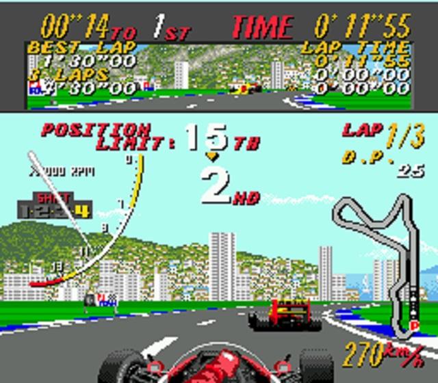 Super Monaco GP Rounding Corner
