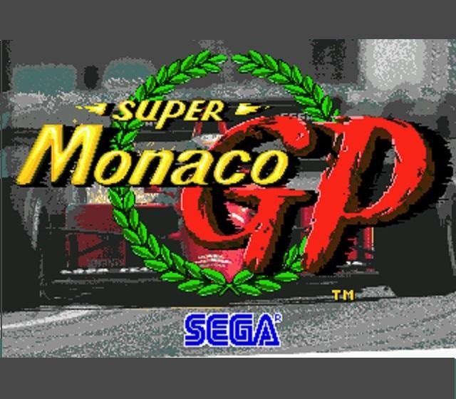 Super Monaco GP Title Screen 2