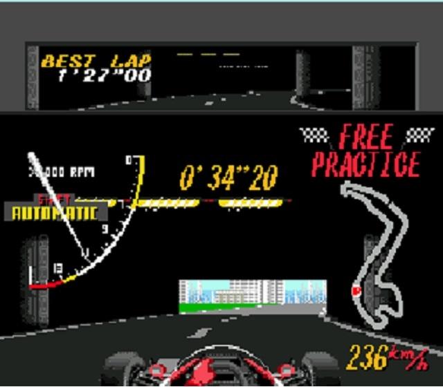 Super Monaco GP Tunnel