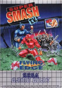 Super Smash TV Game Gear Box