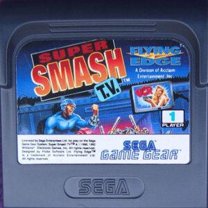 Super Smash TV Game Gear Cartridge