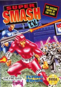 Super Smash TV Genesis Box