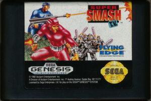 Super Smash TV Genesis Cartridge