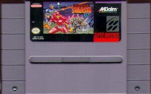 Super Smash TV SNES Cartridge
