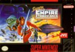 Super Star Wars - The Empire Strikes Back SNES Box