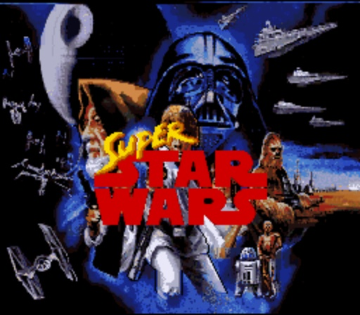 Super Star Wars - Title Screen