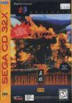 Supreme Warrior Sega CD 32X Box