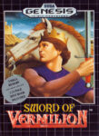 Sword of Vermilion Genesis Box