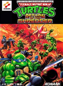 TMNT Return of the Shredder Box
