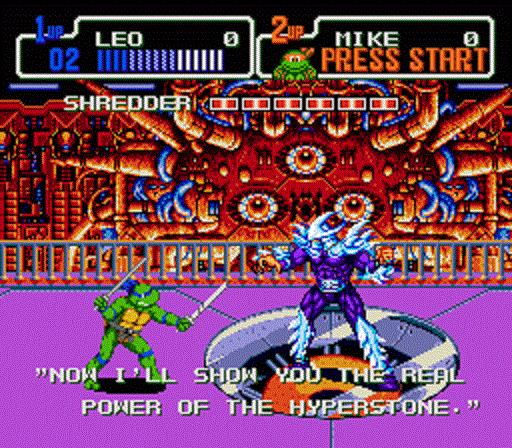 TMNT The Hyperstone Heist - Leonardo Confronts Shredder