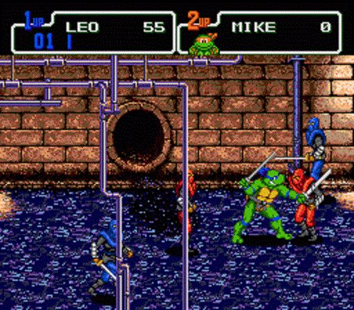 TMNT The Hyperstone Heist - Leonardo in the Sewer