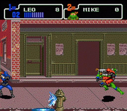 TMNT The Hyperstone Heist - Leonardo on the Street