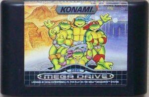 TMNT The Hyperstone Heist Mega Drive Cartridge
