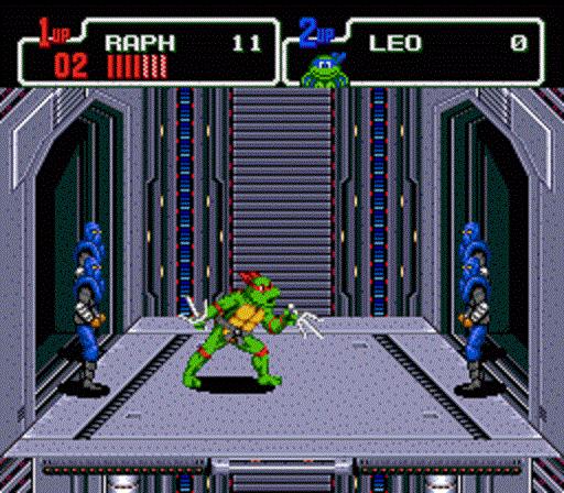 TMNT The Hyperstone Heist - Raphael Elevator Battle