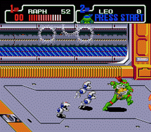 TMNT The Hyperstone Heist - Raphael vs Mousers