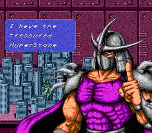 TMNT The Hyperstone Heist - Shredder