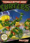Teenage Mutant Hero Turtles European NES Box