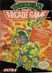 Teenage Mutant Ninja Turtles II - The Arcade Game NES Box