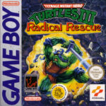 Teenage Mutant Ninja Turtles III Radical Rescue Box