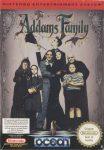 The Addams Family NES Box