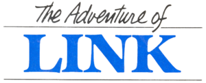 The Adventure of Link Logo