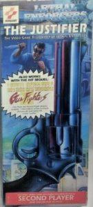 The Justifer Light Gun Player 2 Box