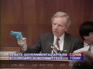 The Justifier in Congress Hearing