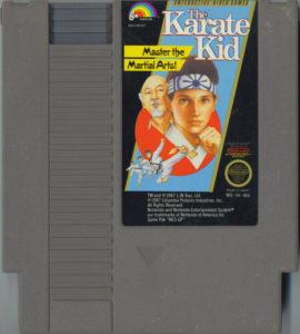 The Karate Kid Cartridge