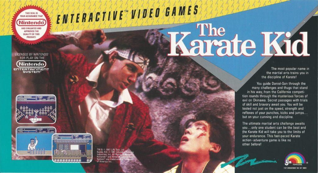 The Karate Kid LJN Ad Sheet
