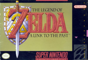 The Legend of Zelda A Link To The Past Box