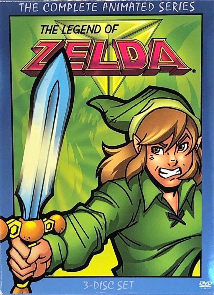 The Legend of Zelda Animated Series DVD Box
