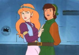The Legend of Zelda Animated Series - Painted Cel 3