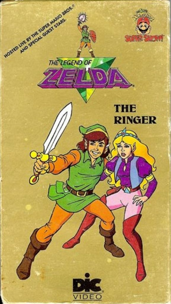 The Legend of Zelda Animated Series VHS 1 Front
