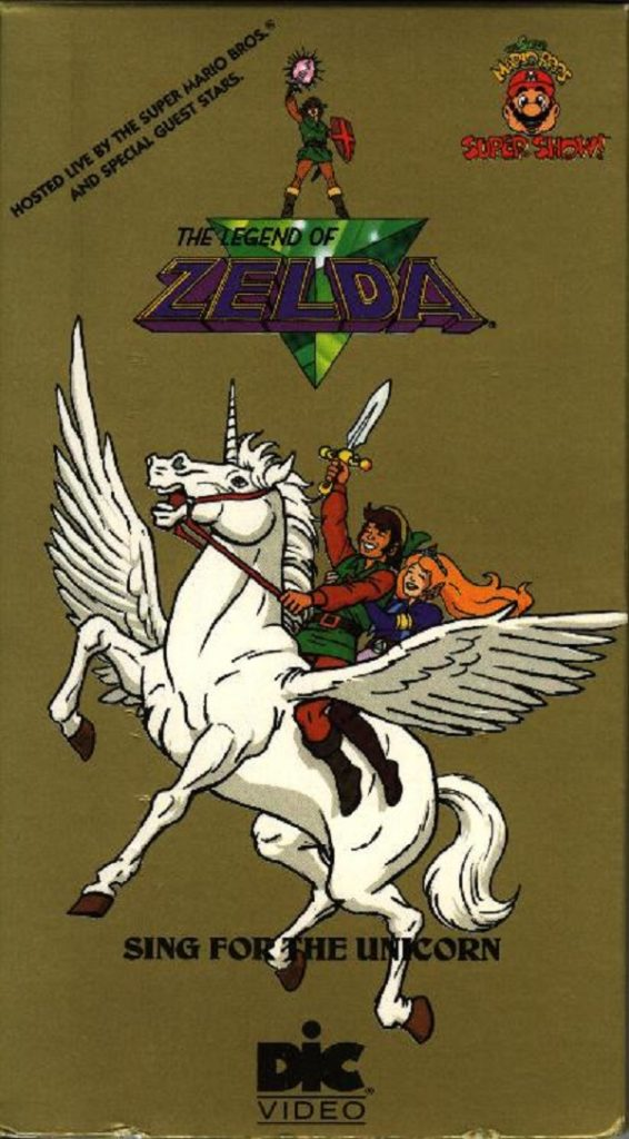 The Legend of Zelda Animated Series VHS 2 Front