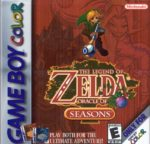 The Legend of Zelda Oracle of Seasons Box