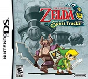 The Legend of Zelda - Spirit Tracks Box