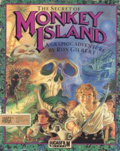 The Secret of Monkey Island Amiga Box