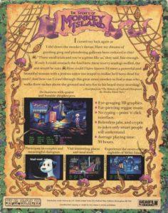 The Secret of Monkey Island Amiga Box Back