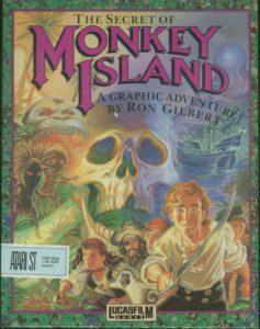 The Secret of Monkey Island Atari ST Box