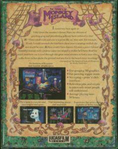 The Secret of Monkey Island Atari ST Box Back