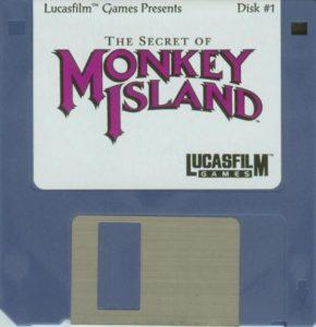 The Secret of Monkey Island Atari ST Disk