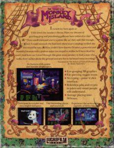 The Secret of Monkey Island DOS Box Back